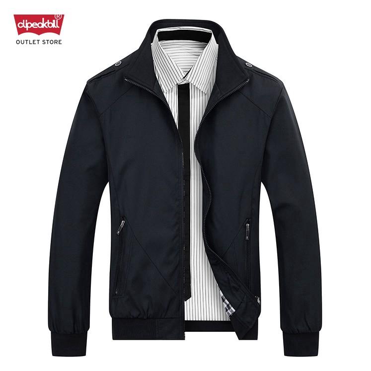 Men Casual Coat Outerwear Winter Slim Collar Office Jacket