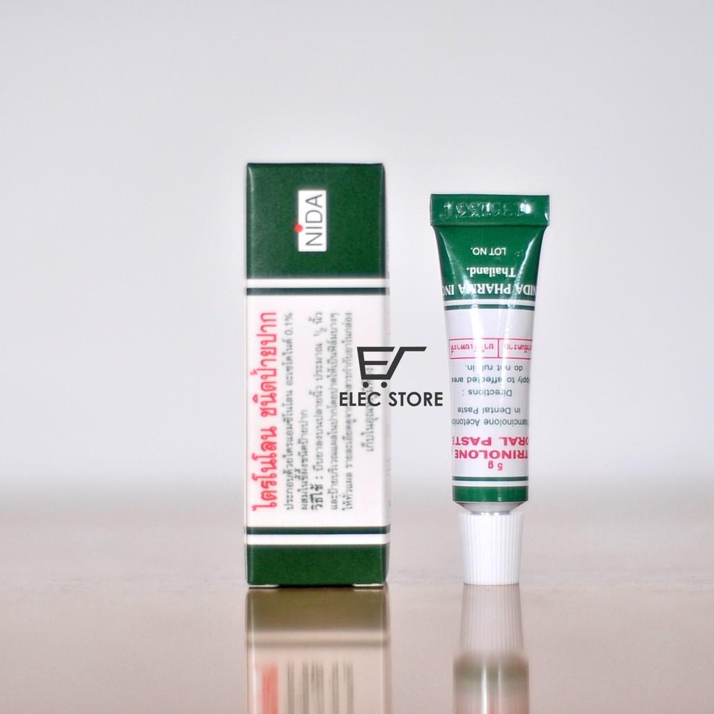 Kem trị nhiệt miệng Trinolone Oral Paste 5g Thái Lan