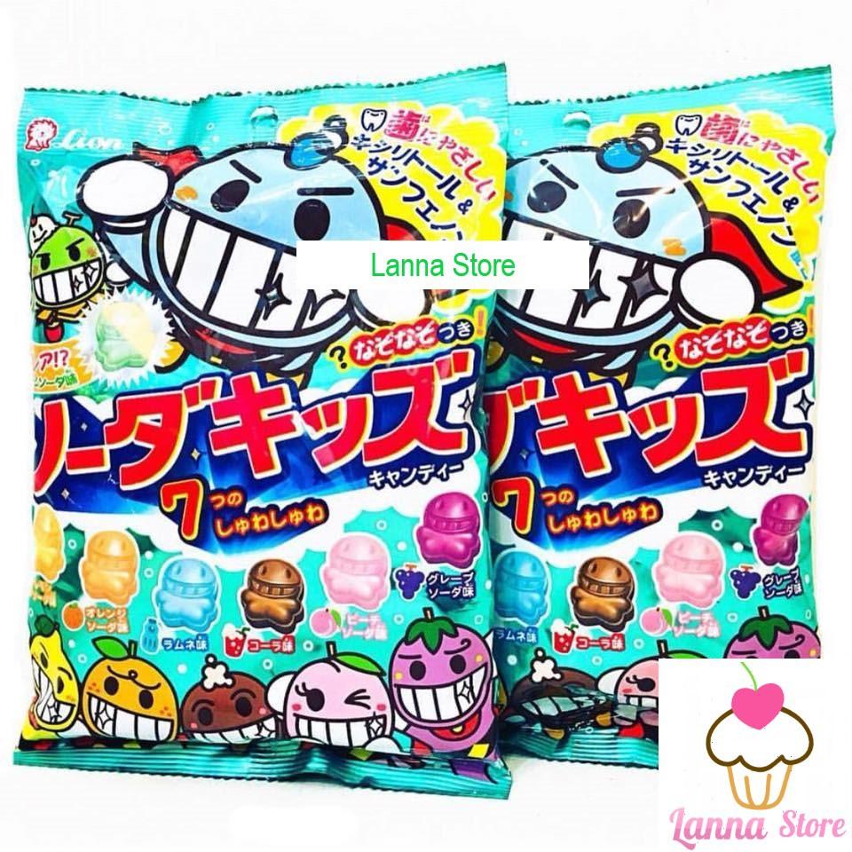 Kẹo Lion 7 vị - Nhật Bản