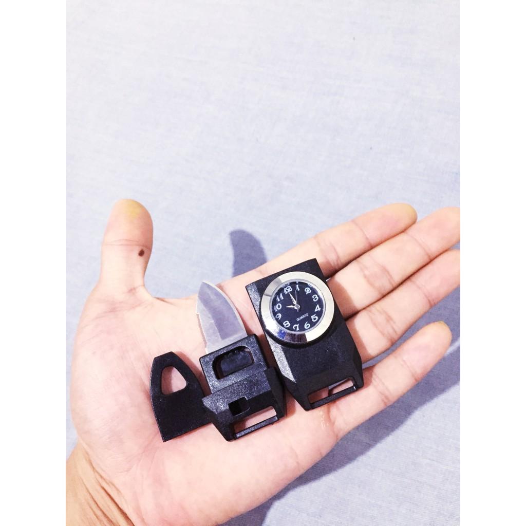 Khóa bấm paracord đồng hồ làm vòng tay sinh tồn