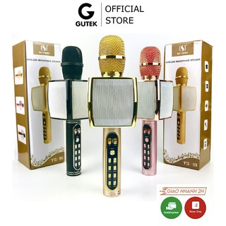 Mic Bluetooth Karaoke Gutek YS91 Kèm Loa Bass