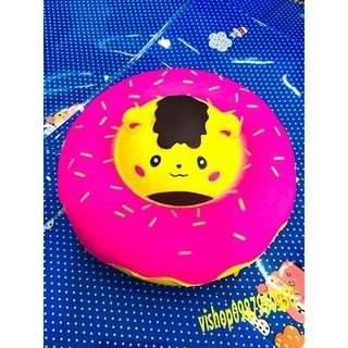 ĐỒ CHƠI SQUISHY bánh kem mặt gấu vàng mã GJI69 Eprooo