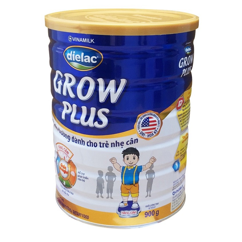 Combo Sữa Grow Plus 1+ màu xanh của Vinamlik