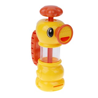 Baby Bath Water Toys Sea Horse Sprinkler Pumping Design Hippocampal Shape