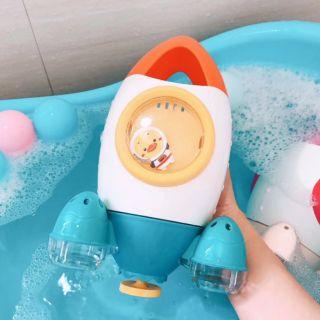 Đồ chơi nhà tắm phi thuyền phun nước
