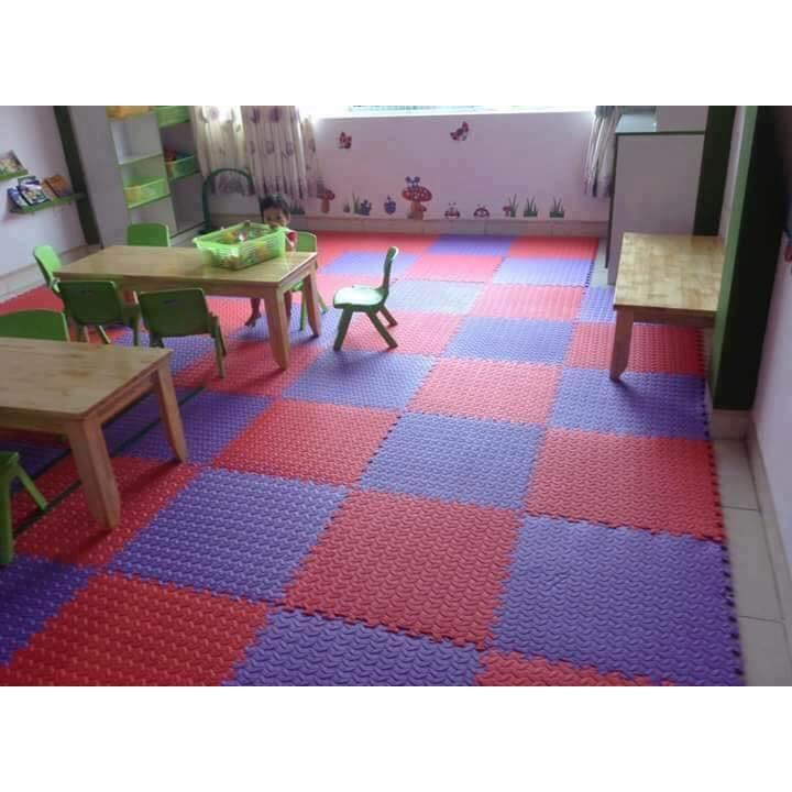 4 miếng thảm xốp ghép lót sàn 60x60 việt nam