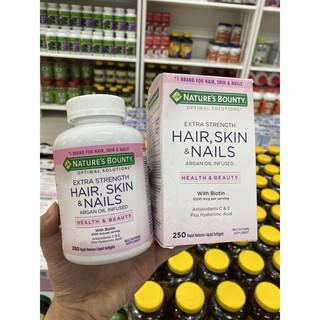 Hair Skin Nails 250v của Nature's Bounty