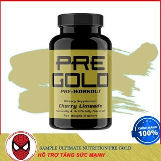 SAMPLE Dùng Thử 1 Lần Dùng ULTIMATE NUTRITION PRE GOLD Hỗ Trợ Tăng Sức Mạnh - Authentic 100% thumbnail