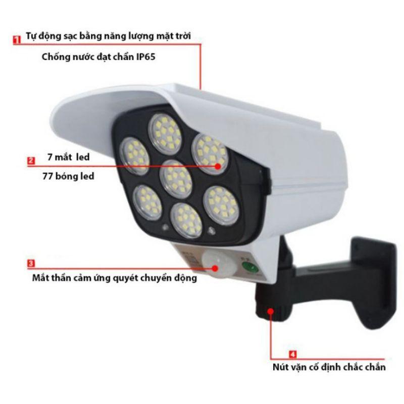 Đèn Cảm Biến Năng Lượng Mặt Trời Ngụy Trang Camera CL-877A giá cạnh tranh