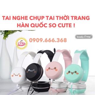 Tai nghe chụp tai thời trang Hàn Quốc so cute thumbnail
