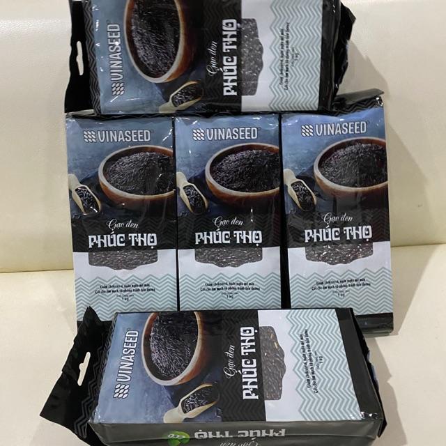 Combo 5kg gạo lứt đen Phúc Thọ Vinaseed (mỗi túi 1kg)