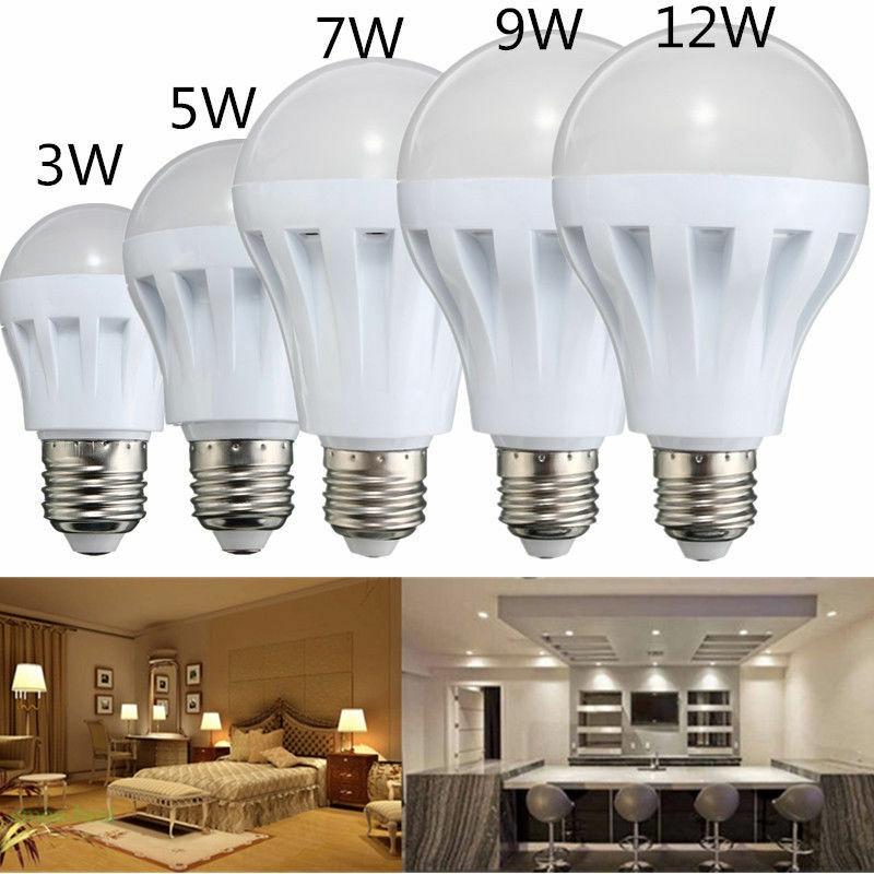 Bóng đèn LED tiết kiệm năng lượng 220V 3W 5W 7W 9W 12W 15W