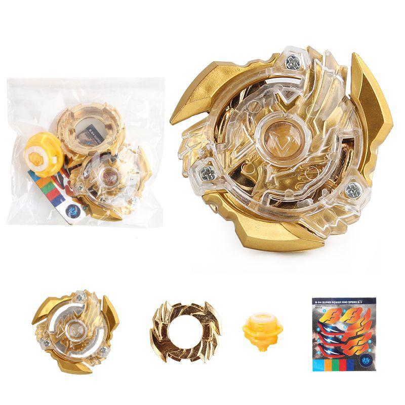 Beyblade Burst Limited Edition Gold B-34 Starter Gyr Kids No Launcher Gift Toys
