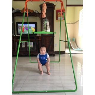 [Khung cao cấp ]Xích đu nhún nhảy tập đi jumperkids cho bé từ 4 tháng tới 36 tháng
