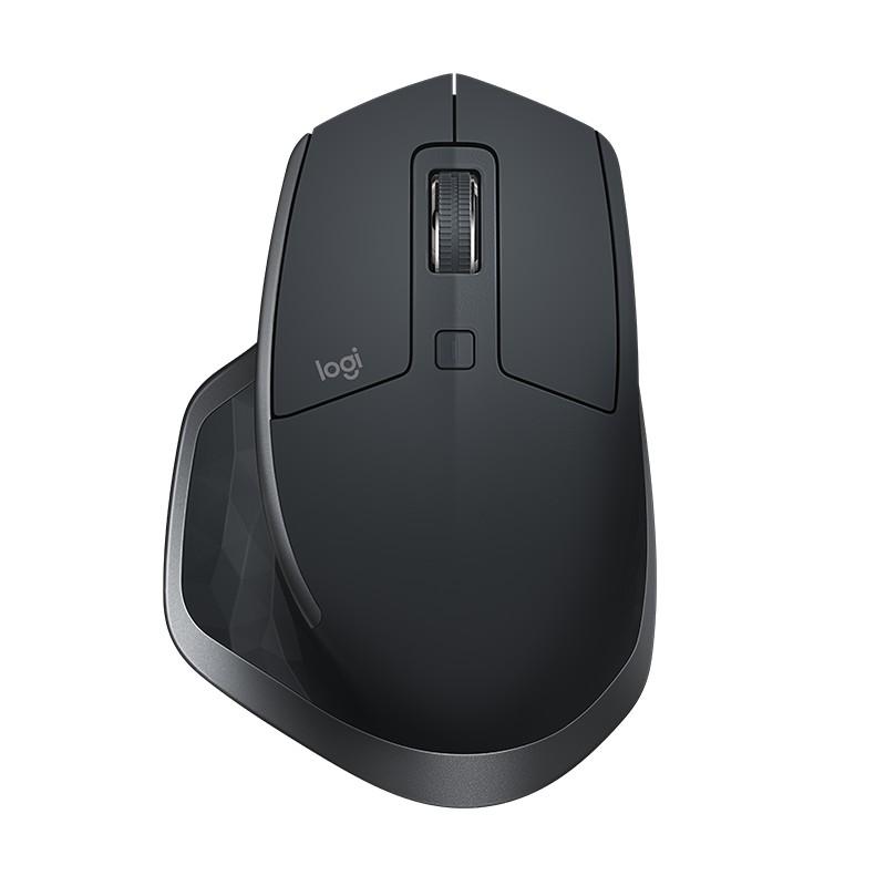 Chuột không dây Bluetooth + Wireless LOGITECH MX MASTER 2S Màu đen
