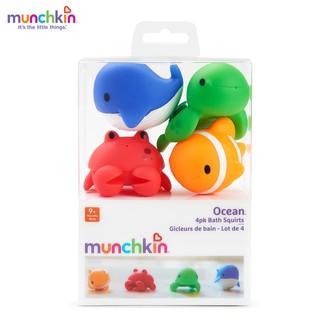 Đồ chơi Bộ 4 sinh vật biển nhỏ Munchkin Mỹ