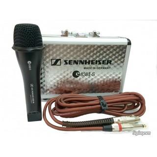 Micro sennheiser 838II-S có dây cho giọng hát hay như MT thumbnail