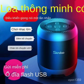Loa Thông Minh Đối Thoại Bluetooth Điện Thoại Hộ Gia Đình Loa Siêu Trầm Ngoài Trời Mini Card Âm Thanh Lớn Robot Âm Thanh thumbnail