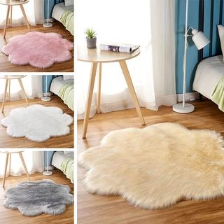 Thảm Lông Lót Sàn Hình Hoa Xinh Xắn 50cm