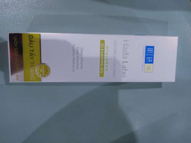Bộ 3 Bước Sạch Da Ẩm Mịn Hada Labo Advanced Nourish (Dầu Tẩy Trang 200ml + Kem Rửa Mặt 80g + Dung Dịch 170ml)