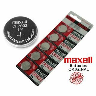 [Mã FAMAYFA giảm 10K đơn 50K] Vỉ 5 viên pin CMOS CR2032 Maxell/Sony Lithium Battery 3V (Vỉ 5 viên giá 25K)