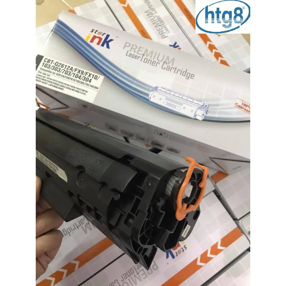 Hộp mực 12a/303 dùng cho máy in 2900,3000, Mf 4350D,Fax L140,L160 1010/1020,MF 3050,1319/FX9 Có lỗ đổ mực  và xả thải
