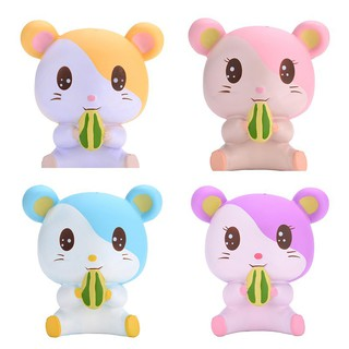 Soft Cute Hamster Squishy Kawaii Animal Slow Rising Squeeze toy squishy