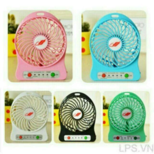Combo 10 quạt tích điện mini 3 tốc độ gió - 2463489 , 230570892 , 322_230570892 , 350000 , Combo-10-quat-tich-dien-mini-3-toc-do-gio-322_230570892 , shopee.vn , Combo 10 quạt tích điện mini 3 tốc độ gió