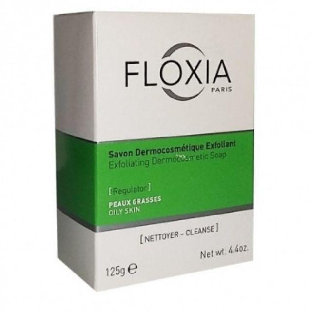 Xà phòng Floxia DERMOCOSMETIC SOAP EXFOLIATING dành cho da nhờn và da mụn