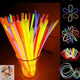 Hộp 100 Vòng Tay dạ Quang – Que Phát Sáng ( Glow Stick ) – LICLAC prooo NMS12171