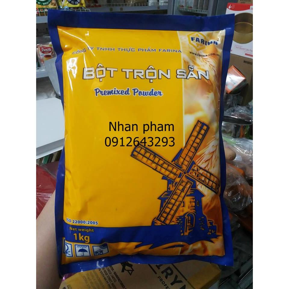 Bột trộn sẵn bánh mì Hàn Quốc Farina Cona 1kg
