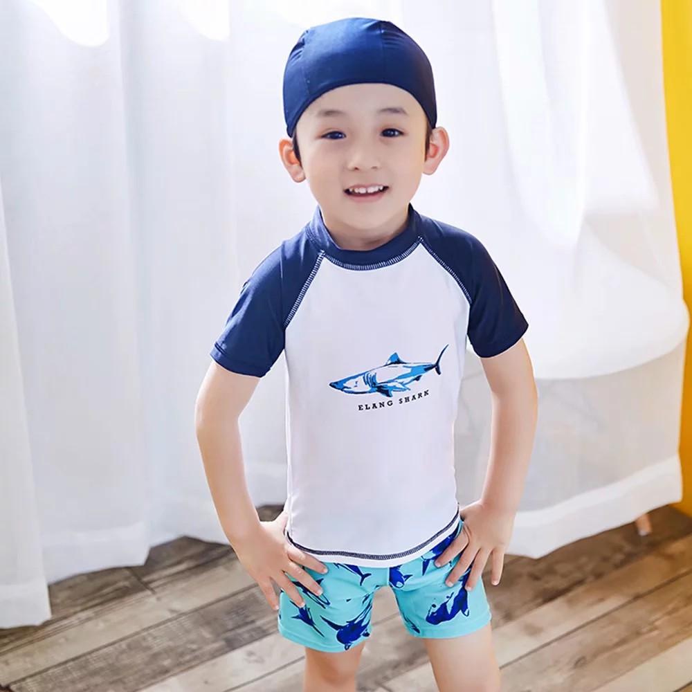 Set đồ bơi kèm nón xinh xắn dành cho bé