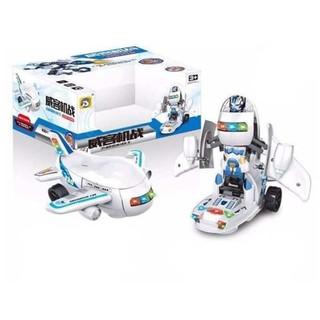 Bộ đồ chơi máy bay biến hình rô bốt cho bé yêu