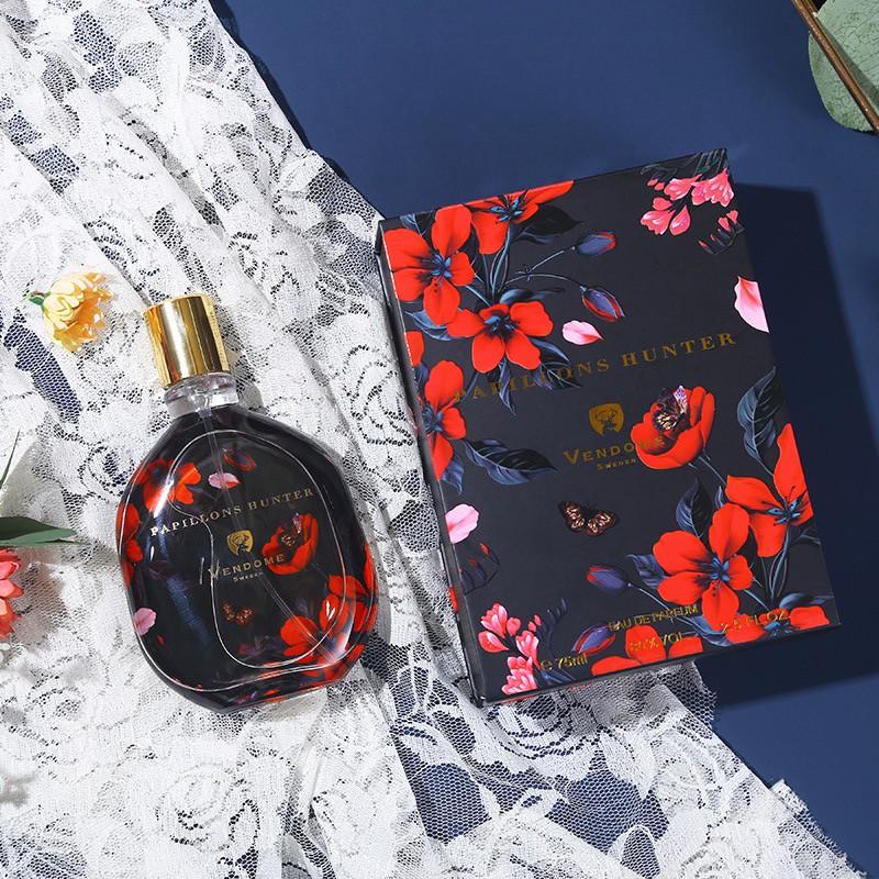 Nước hoa nữ VENDOME PAPILLONS HUNTER 75ml Thương hiệu Pháp 2020 Bản Nồng Độ Lưu hương siêu lâu 12h Hộp Đựng Quà Tặng