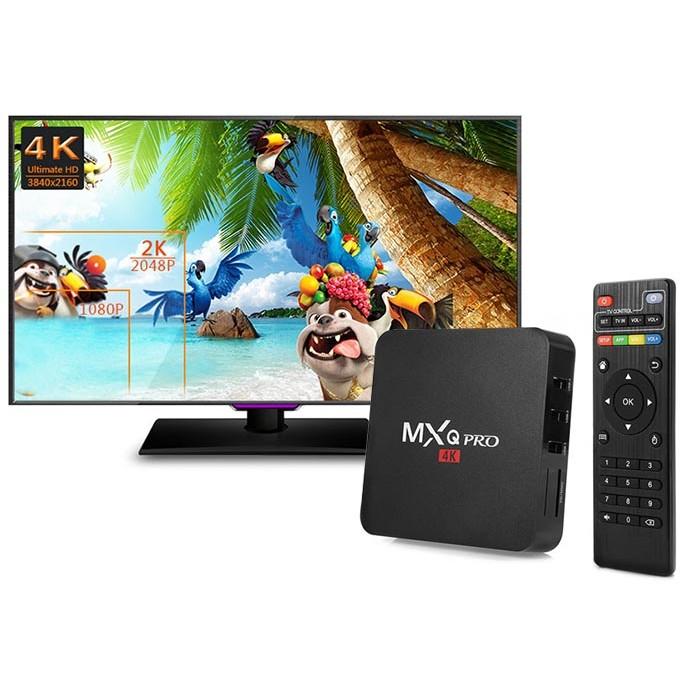 ANDROID TV BOX MXQ PRO 4K TIVI BOX THẾ HỆ MỚI - 2619510 , 30167596 , 322_30167596 , 799000 , ANDROID-TV-BOX-MXQ-PRO-4K-TIVI-BOX-THE-HE-MOI-322_30167596 , shopee.vn , ANDROID TV BOX MXQ PRO 4K TIVI BOX THẾ HỆ MỚI