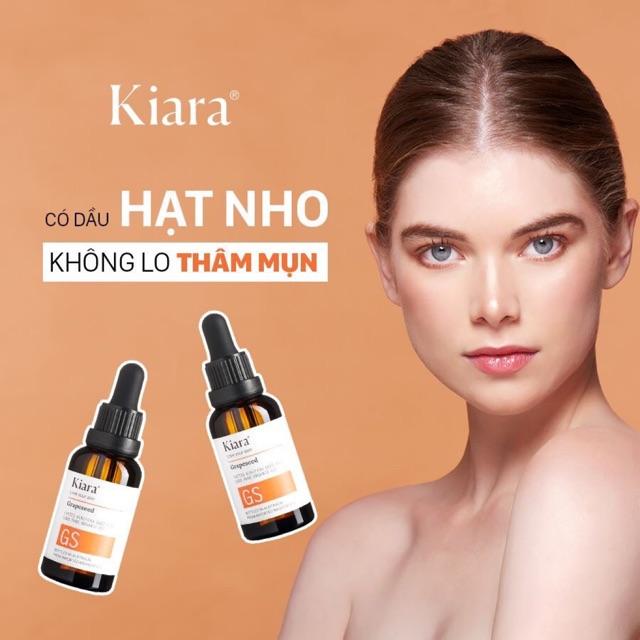 Grapeseed oil Kiara - Tinh dầu hạt nho (Úc) | Shopee Việt Nam