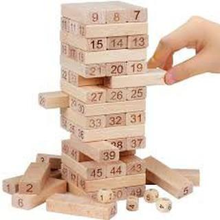 Trò chơi rút gỗ 54 thanh cu định vp88