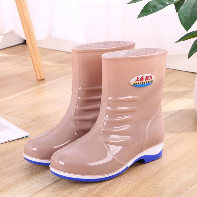 giày bốt cao su chống trượt cho nữ - 14773520 , 2740337130 , 322_2740337130 , 289600 , giay-bot-cao-su-chong-truot-cho-nu-322_2740337130 , shopee.vn , giày bốt cao su chống trượt cho nữ