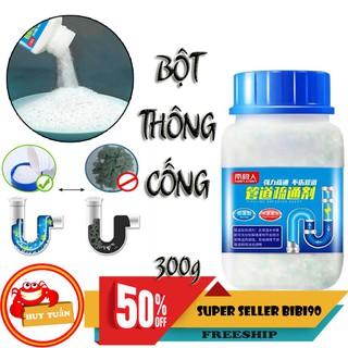 Yêu ThíchHộp bột thông tắc ống cống diệt sạch vi khuẩn loại 300g (PDA) bibi90