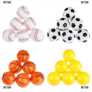 {MT1VN}6Pcs 6.3Cm Childrens Vent Balls Soccer Stress Balls For Stress Relief Ball Games
