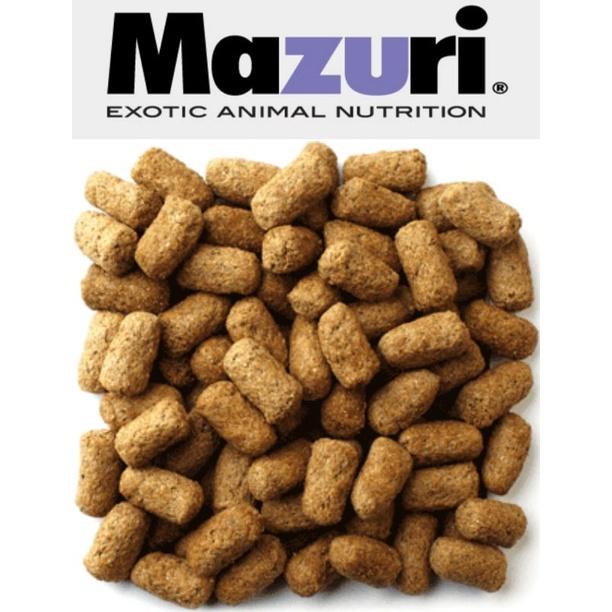 Mazuri 5M21 - Thức ăn cho Iguana và Rùa cạn - bột và hạt (gói lẻ 200gram) - Hạt