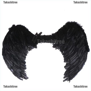 Takashitree✐❥ Large Black Feather Angel Wings Adult Fairy Angel Wings
