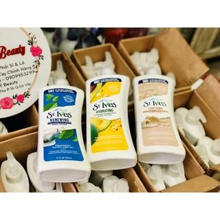 Sữa Dưỡng Thể Toàn Thân Trẻ Hóa Da St.Ives Collagen 621ml