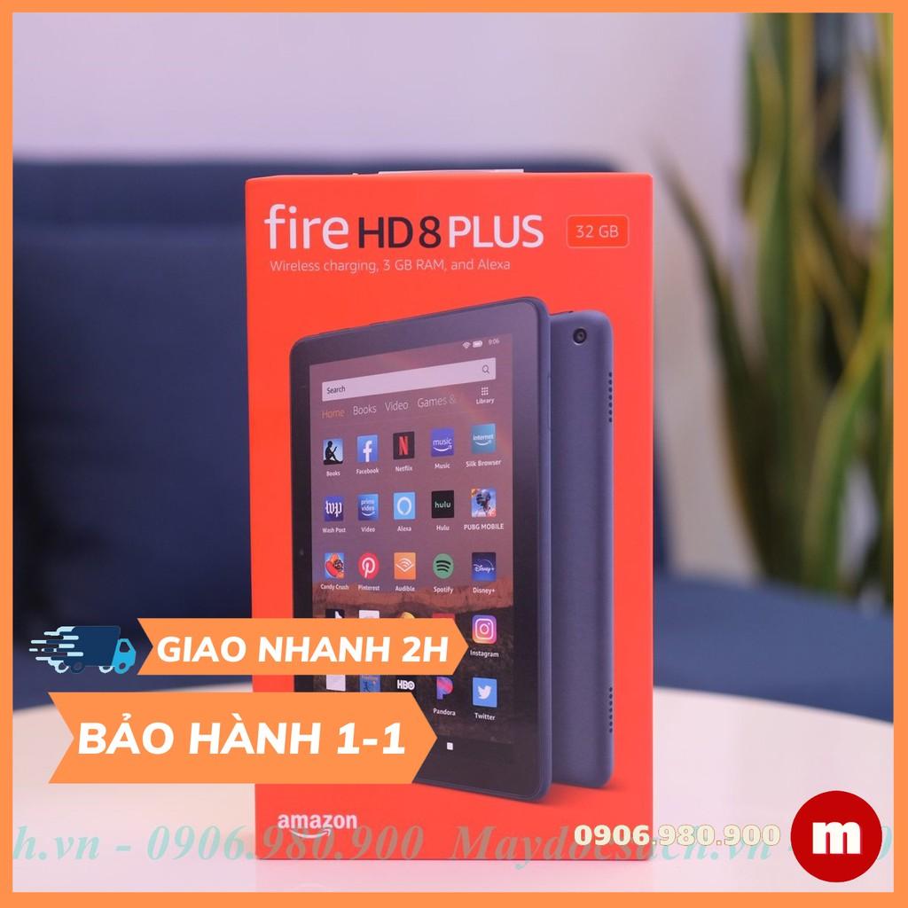 Máy tính bảng Kindle Fire HD 8 - 2020, TẶNG MIẾNG DÁN HOẶC COVER
