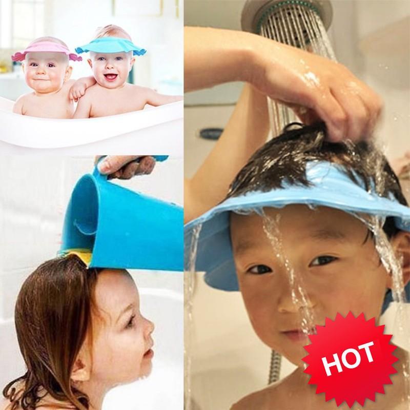 [HOT]  Mũ chắn nước cho trẻ em loại dầy không tai