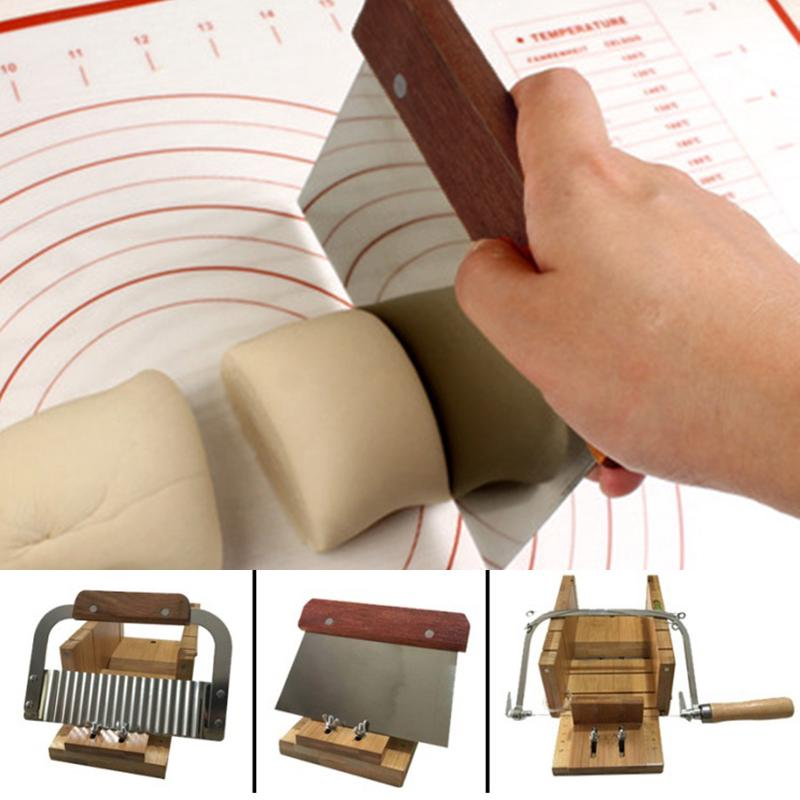 Wooden Soap Cutter Tool Handmade Soap Making Cutting Tools Wire Slicer Durable