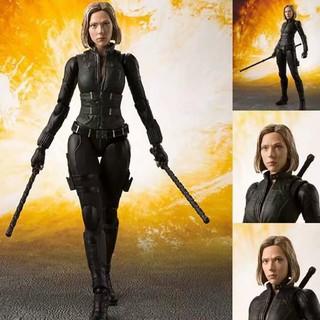 Mô hình nhân vật Black Widow trong Avengers Infinity War đẹp mắt