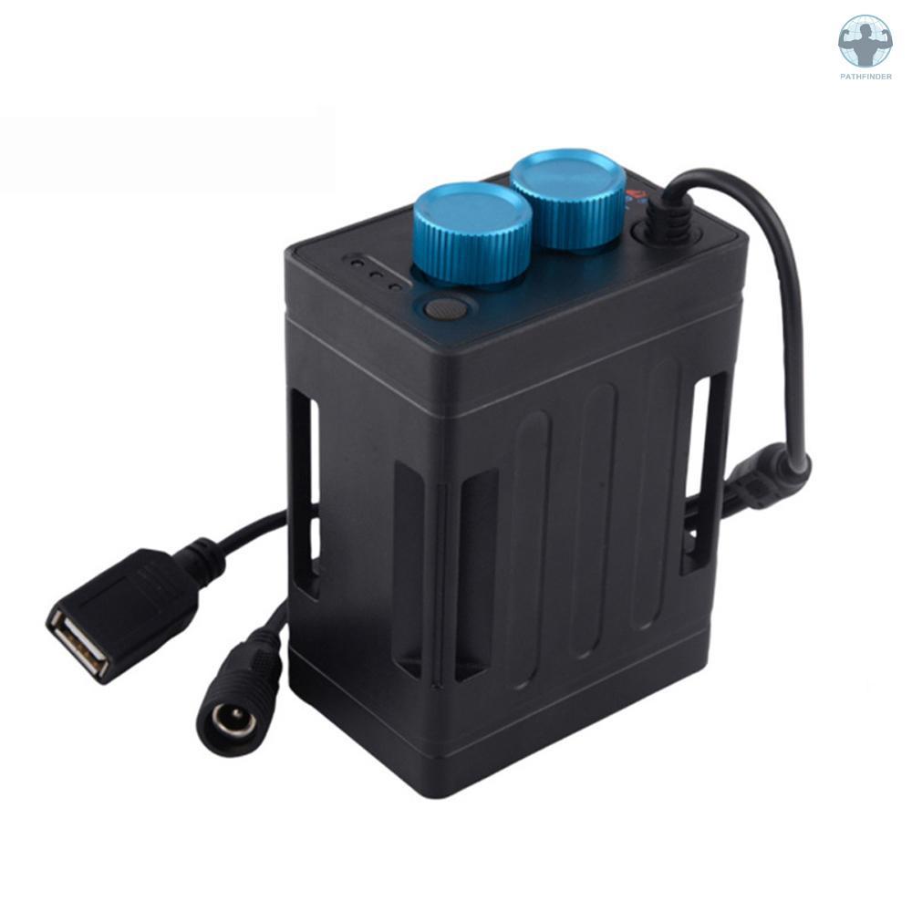 Bộ pin sạc dự phòng cho đèn pha xe đạp dung lượng lớn 4xpin 16850, dung  lượng cao 13800mah, gắn khung sườn xe đạp, tiện lợi dochoixedap tốt - Sắp  xếp theo