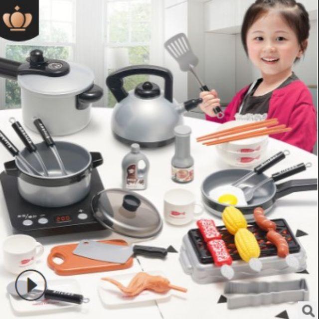Bộ đồ chơi nấu ăn cho bé