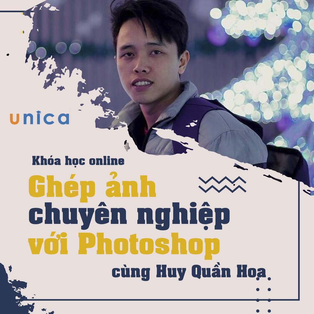 Toàn quốc- [E-voucher] FULL khóa học THIẾT KẾ - ĐỒ HỌA - Ghép ảnh chuyên nghiệp với Photoshop- Mai Xuân Huy
